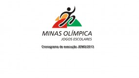Cronograma de execução do JEMG/2013 já está disponível. Governo de Minas divulga as ações e as datas de execução.