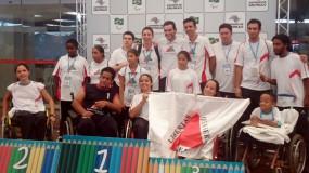 Confrontos mineiros marcam finais do tênis em cadeira de rodas nas Paralimpíadas Escolares.