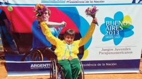 Começam as disputas nas Paralimpíadas Escolares 2014.