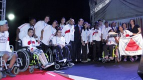 Mineiros chegam a São Paulo para disputa das Paralimpíadas Escolares.