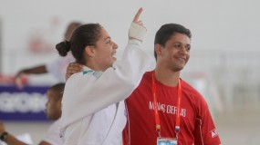 Minas Gerais conquista o primeiro ouro! Sarah Bezerra de Belo Horizonte sobe ao pódio em João Pessoa.