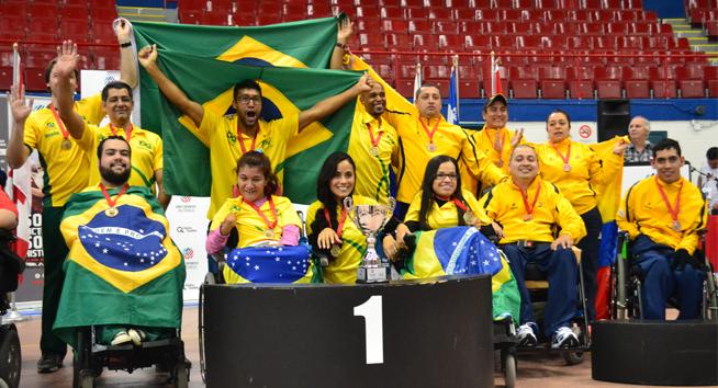 Mineiros estão em treinamento na seleção brasileira de bocha paralímpica.