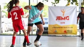 Futsal feminino fazendo bonito em Contagem! Confira as fotos…