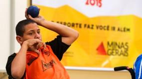 JEMG/2015 – Etapa estadual Uberaba – Bocha paralímpica