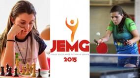Melhores momentos JEMG/2015 Uberaba – Xadrez – Tênis de mesa e vôlei