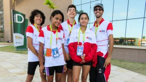 Jogos Escolares da Juventude em Fortaleza. Confira as fotos do 2º dia de competição!