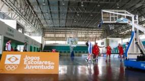 Jogos Escolares da Juventude em Fortaleza. Confira as fotos do 1º dia de competição das modalidades coletivas!