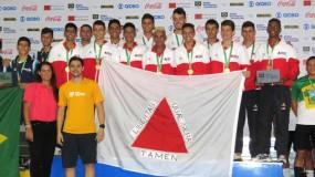 Modalidades coletivas faturam mais 2 medalhas! Minas conquista 15 medalhas nos Jogos Escolares da Juventude!