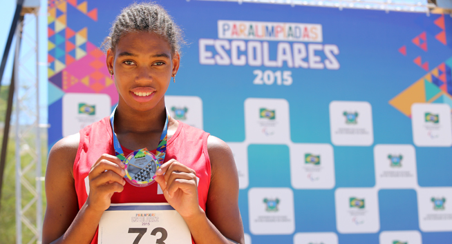 Chuva de medalhas nas Paralimpíadas Escolares! Clima de finais em Natal.