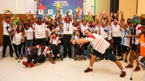 Show nas Paralimpíadas Escolares. Minas fecha em 3º lugar geral com 51 medalhas!