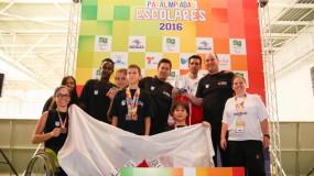 Participação de ouro nas Paralimpíadas Escolares 2016. Minas fatura 55 medalhas!
