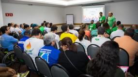 Paralimpíadas Escolares 2016. Reunião dos chefes de delegação dá início à competição.