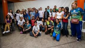 Tudo pronto para as Paralimpiadas Escolares! Delegação rumo a São Paulo!