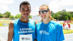Revelado no JEMG, Víttor Matheus é ouro no mundial escolar de atletismo.