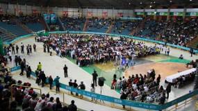 Noite de festa do Esporte Escolar de Minas Gerais