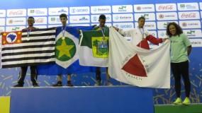 Mais 4 medalhas  nos Jogos Escolares da Juventude: luta olímpica foi o destaque.