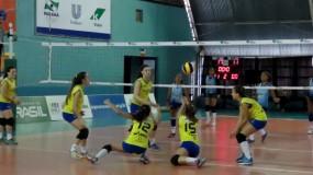 Show de bola em Curitiba! Confira os resultados do primeiro dia de competição nos Jogos Escolares da Juventude.
