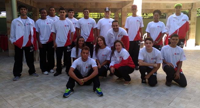 Delegação mineira embarca neste momento para os Jogos Escolares da Juventude em Brasília!