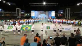 Jogos Escolares da Juventude – 15 a 17 anos: cerimônia de abertura deu o tom da competição.