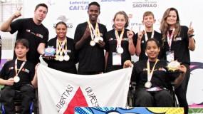 Delegação de Minas Gerais encerra Paralimpíadas Escolares com 56 medalhas!