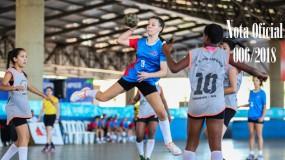 Publicada a nota oficial 006/2018 – Alteração de local de competição da modalidade de futsal feminino módulos I e II da SRE Montes Claros (sede Montes Claros)