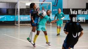 Publicada a nota oficial 011/2018. Eliminação de equipe por uso de estudante-atleta irregular da SRE Diamantina (sede Minas Novas)