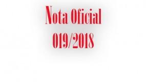 Publicada a nota oficial 019/2018 – Eliminação de estudantes-atletas da etapa estadual do JEMG/2018