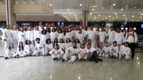 Mais 100 estudantes-atletas embarcam hoje para os Jogos Escolares da Juventude em Natal-RN