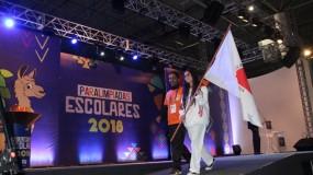 Delegação Mineira marca presença na cerimônia de abertura das Paralimpíadas Escolares 2018