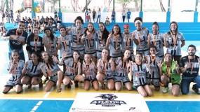 Com apenas oito mil habitantes, município é multicampeão no futsal feminino da etapa microrregional