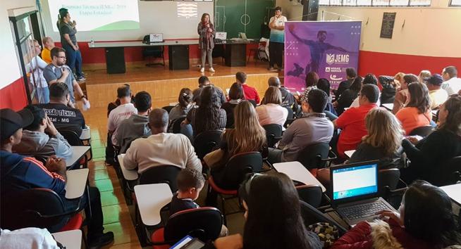 Reunião técnica define os detalhes da etapa estadual em Uberlândia.