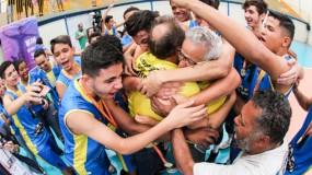 Voleibol: município faz história e vai representar Minas Gerais nos Jogos Escolares da Juventude, em Cascavel-PR