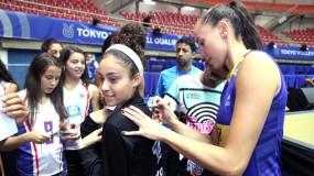 Estadual JEMG/2019 – estudantes-atletas encontram jogadoras da seleção brasileira de vôlei