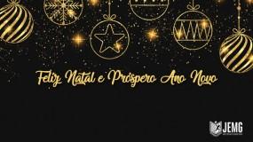 É tempo de paz e união – Feliz Natal e Próspero Ano Novo!