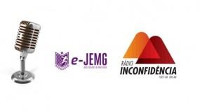 Daqui a pouco tem encontro com o e-JEMG no Programa Primeiras Esportivas.