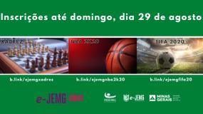Domingo, dia 29, é o último dia de inscrição no NBA 2K20, FIFA 20 e xadrez online.