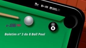 8 Ball Pool: disponível Boletim nº 3. Confira!