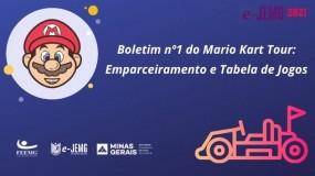 e-JEMG/2021:  Boletim 1 do Mario Kart Tour já está disponível.