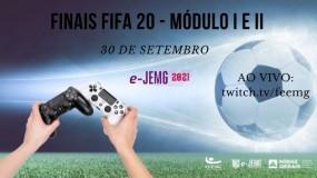 e-JEMG/2021:  grande final do FIFA 20 será nesta quinta-feira, 30 de setembro.
