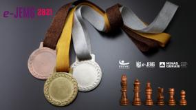 e-JEMG/2021 : Competição de xadrez online chegou ao fim. Confira o boletim e os campeões da modalidade.