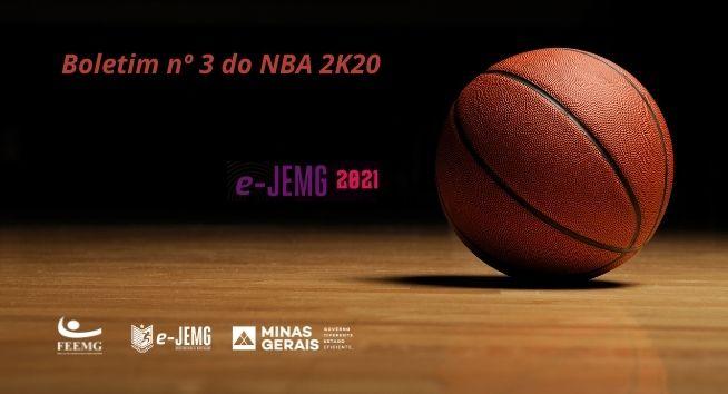 Boletim nº 3 do NBA 2K20 já está disponível. Acesse e confira!