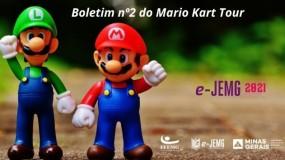 e-JEMG/2021: Boletim 2 da competição de Mario Kart Tour já está disponível.