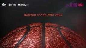 Boletim nº 2 do NBA 2K20 já está disponível. Acesse e confira!