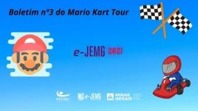 e-JEMG/2021: Boletim nº 3 da Competição de Mario Kart Tour já está disponível.
